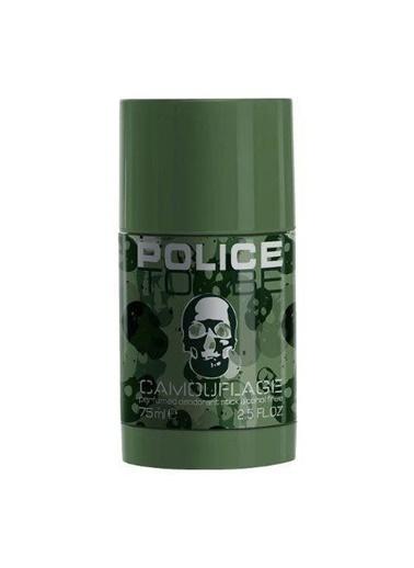 Police Police To Be Camouflage Man Deodorant Stick 75Ml Erkek Deo Stick Renksiz